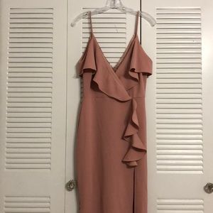 Symphony- Dusty Pink long dress NWT